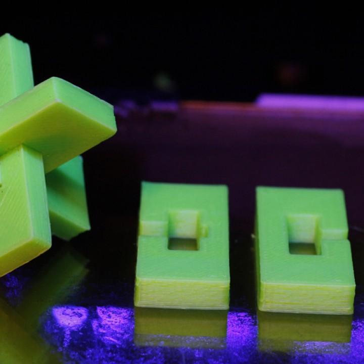 XYZ Puzzle (Parametric)