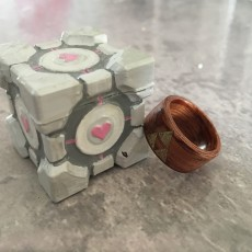 Picture of print of Portal Cube Box