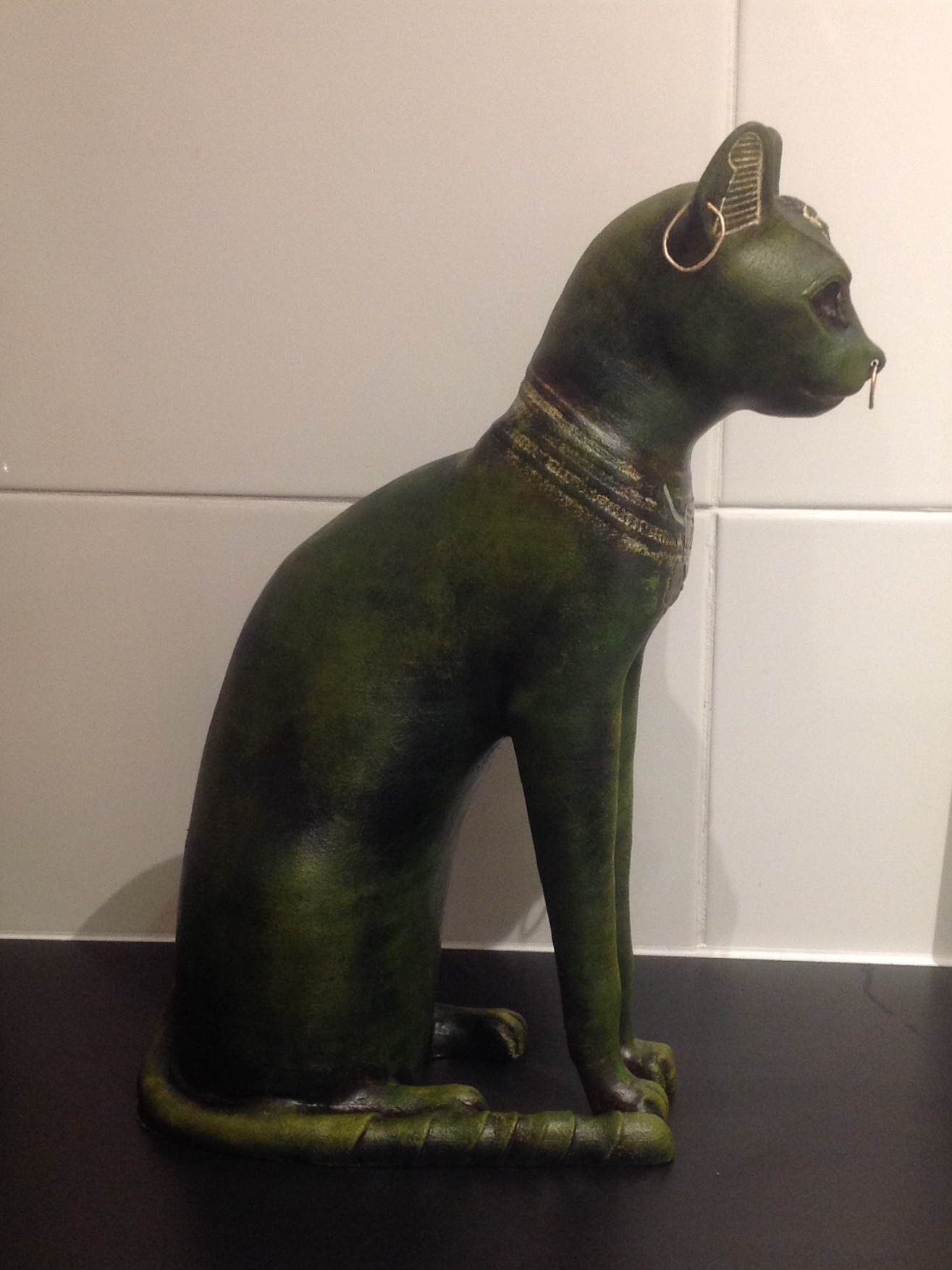 3D Printable Gayer-Anderson Cat at The British Museum