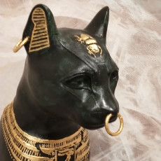 Picture of print of Gayer-Anderson Cat at The British Museum, London