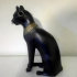 Gayer-Anderson Cat at The British Museum, London print image