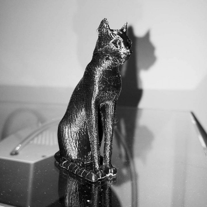 Picture of print of Gayer-Anderson Cat at The British Museum, London This print has been uploaded by Rey Alicea