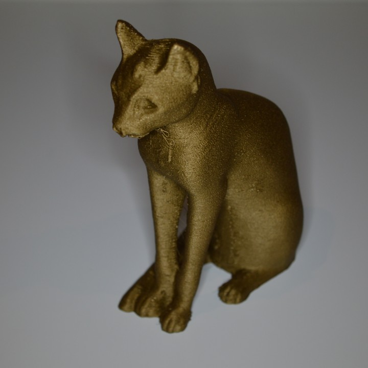 Picture of print of Gayer-Anderson Cat at The British Museum, London This print has been uploaded by Wim Haarsma