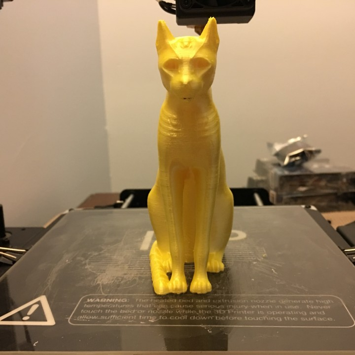 Picture of print of Gayer-Anderson Cat at The British Museum, London This print has been uploaded by Mark Whidden