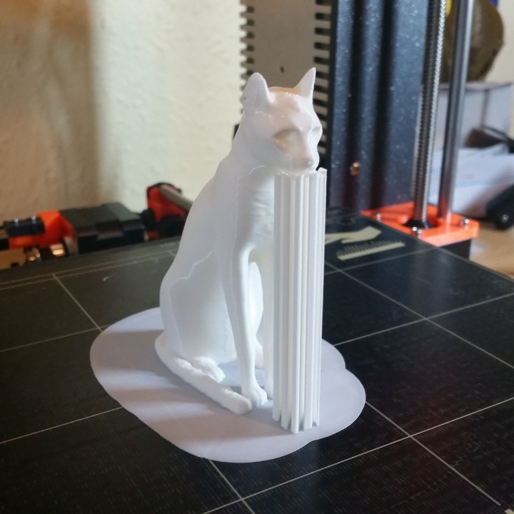 Picture of print of Gayer-Anderson Cat at The British Museum, London This print has been uploaded by 3DWithUs