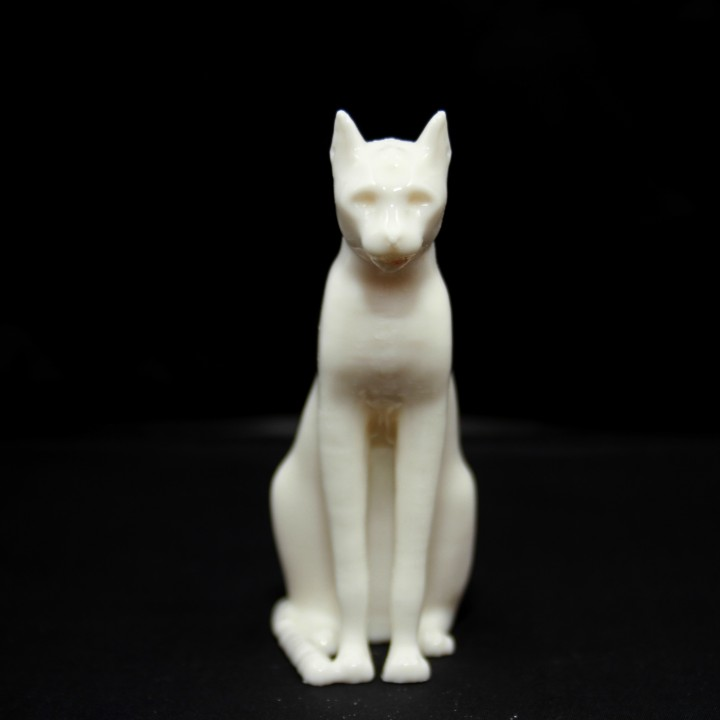 Picture of print of Gayer-Anderson Cat at The British Museum, London This print has been uploaded by Ivan B