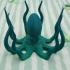 Octopus print image