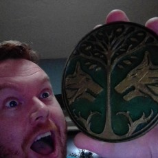 Picture of print of Destiny: Iron Banner Emblem