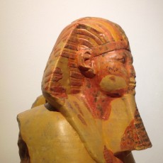 Picture of print of Head and Shoulders of a Sphinx of Hatshepsut at The Metropolitan Museum of Art, New York