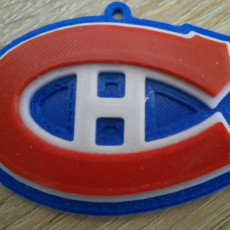 Picture of print of The Montreal Canadiens Logo