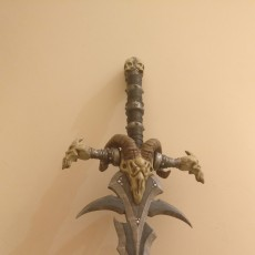 Picture of print of Frostmourne from Warcraft This print has been uploaded by Casual Props