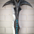 Frostmourne from Warcraft print image