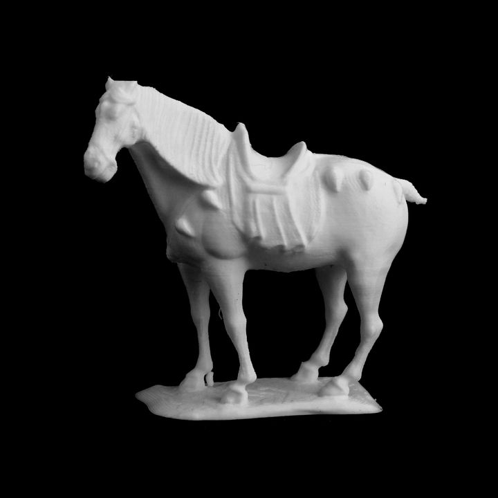 Figure of a Horse at the Metropolitan Museum of Art, New York