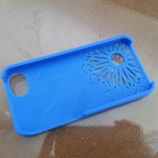 Picture of print of Christmas IPhone 5 Snowflake Case
