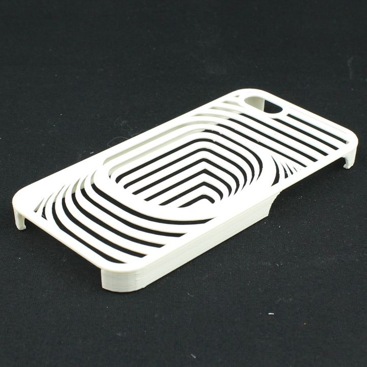 Curved Pattern IPhone 5 Case