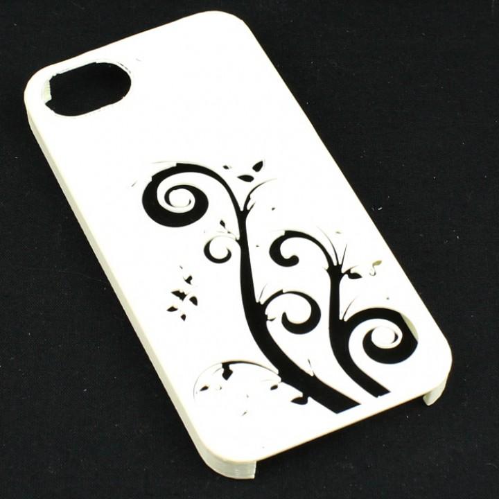 Flower Pattern IPhone 5 Case