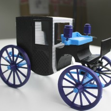 Picture of print of Brougham Carriage