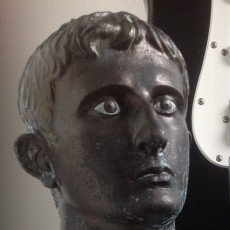 Picture of print of Bronze Head of Augustus