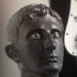 Bronze Head of Augustus print image