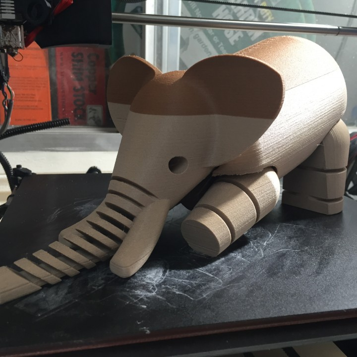 Picture of print of Elephant LFS This print has been uploaded by Creative Manufacturing 3D