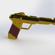 Picture of print of He-Man Pistol