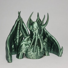 Picture of print of Cthulhu concept