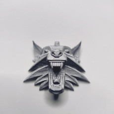 Picture of print of The Witcher - Wolf Head Talisman