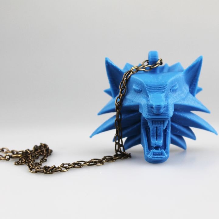 The Witcher - Wolf Head Talisman