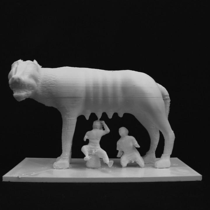 The Capitoline Wolf at The Musei Capitolini, Rome
