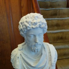 Picture of print of Marcus Aurelius at The Louvre, Paris