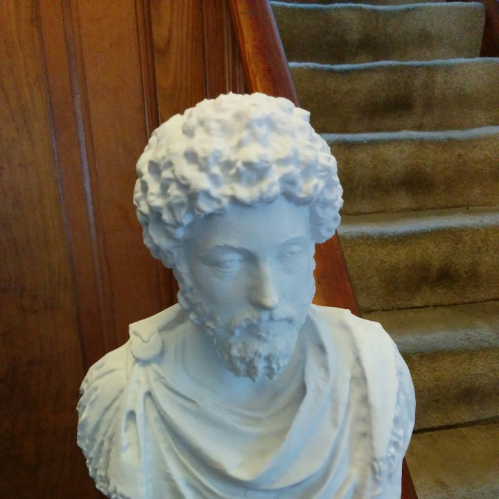 Picture of print of Marcus Aurelius at The Louvre, Paris This print has been uploaded by Benjamin Krygsheld
