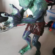 Picture of print of Abe from Oddworld