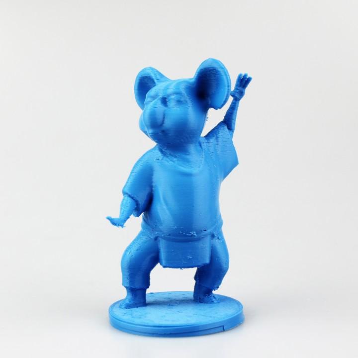 Koala Cartoon 3d Model