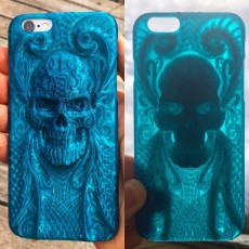 Picture of print of iPhone 6 Skull Case