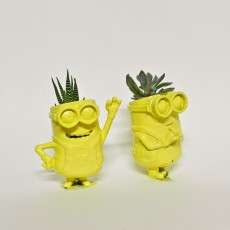 Picture of print of Minion Trio