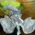 dragon sculpture print image