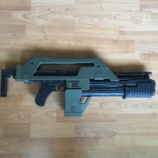 Picture of print of M4A1 Rifle from Alien This print has been uploaded by JokerBingo