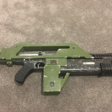 Picture of print of M4A1 Rifle from Alien This print has been uploaded by Richard Williamson