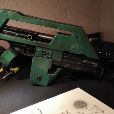 Picture of print of M4A1 Rifle from Alien This print has been uploaded by Cliff Mellangard