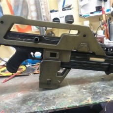 Picture of print of M4A1 Rifle from Alien