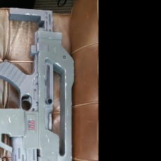 Picture of print of M4A1 Rifle from Alien This print has been uploaded by Mike Brandyberry