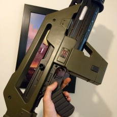 Picture of print of M4A1 Rifle from Alien This print has been uploaded by michael