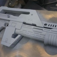 Picture of print of M4A1 Rifle from Alien This print has been uploaded by Richard Hardwick