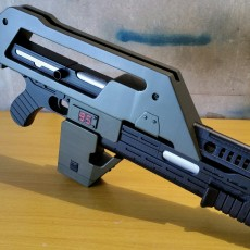 Picture of print of M4A1 Rifle from Alien This print has been uploaded by Filamentforge