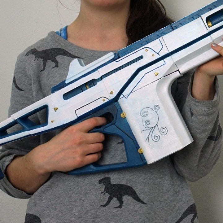 Monte Carlo Auto Rifle From Destiny
