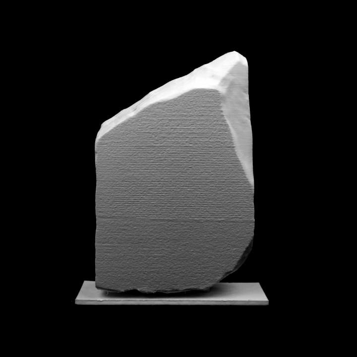 Rosetta Stone at The British Museum, London