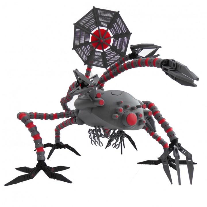 Matrix Sentinel - Fully Articulated model