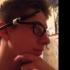 Glasses to Pen Holder print image