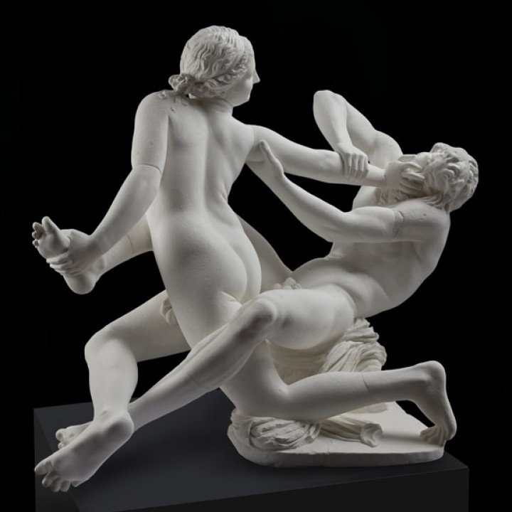 Satyr and Hermaphrodite