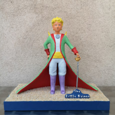 Picture of print of The Little Prince